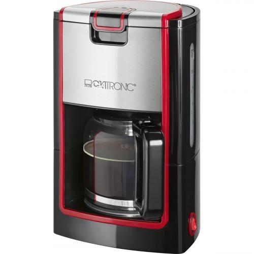 Clatronic Cafetera KA 3558 8-10 Tazas Negra