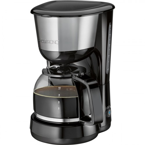Clatronic Cafetera 8-10 Tazas KA 3575  Negra