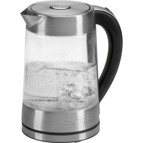 Clatronic Hervidor agua 1,7 Litros WK 3501 G Cristal