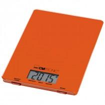 Clatronic Balanza Digital de Cocina KW 3626 naranja