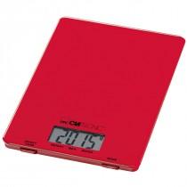 Clatronic Balanza Digital de Cocina KW 3626 roja